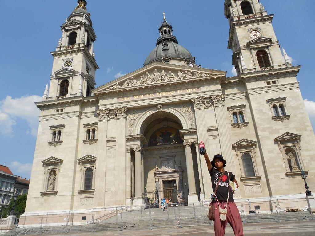 今日のコーラ ブダペスト観光は暑い!