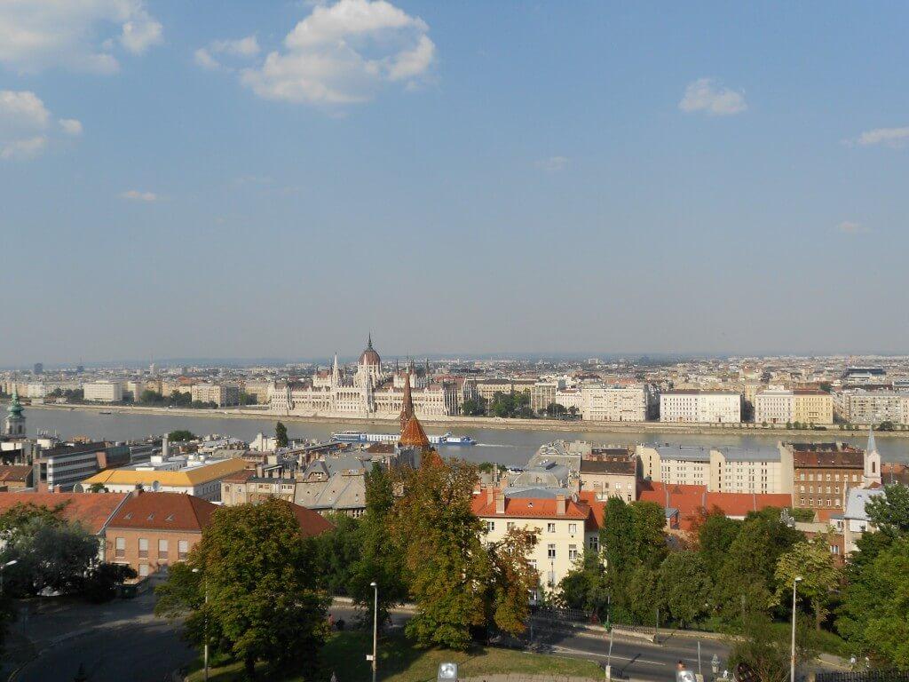 ブダペスト 王宮の丘 街並み