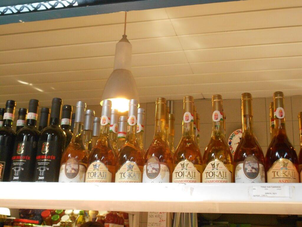 ブダペスト 中央市場 「ファイナルファンタジー」シリーズのエリクサーのモデルになった「トカイワイン」