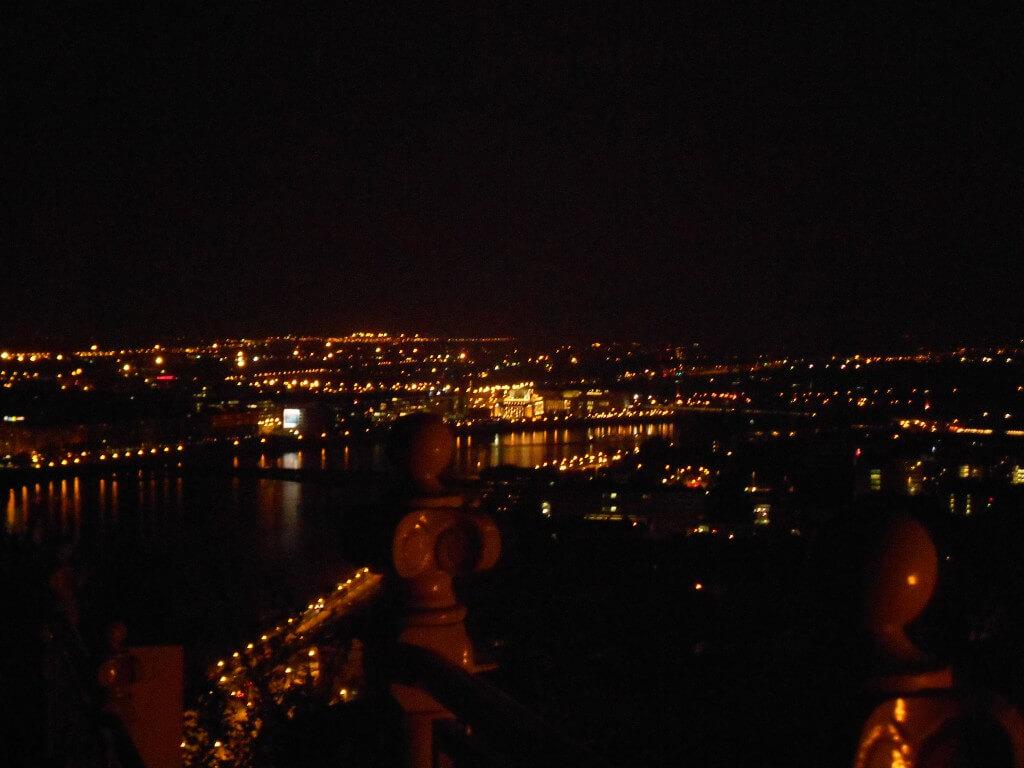 ブダペスト 夜景 ドナウ川  アンダンテ ハンガリー