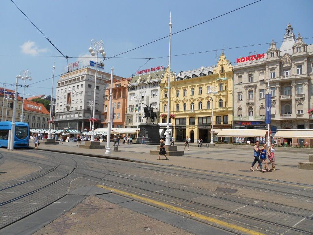 ザグレブ 街並み クロアチア