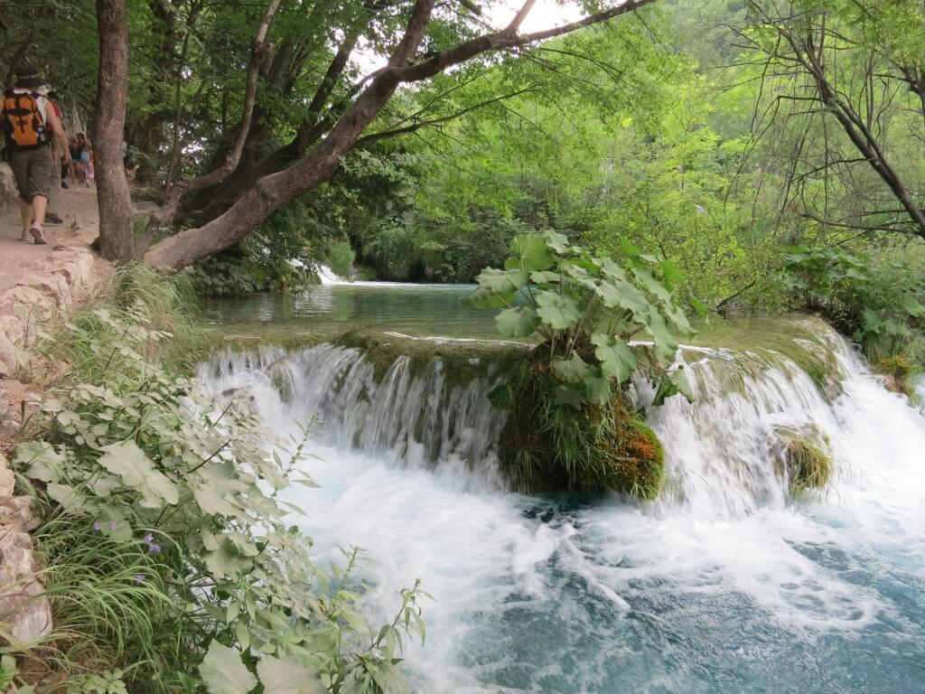 プリトヴィツェ湖群国立公園 自然保護区 滝