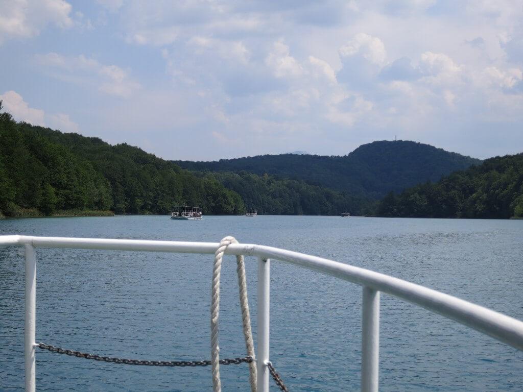 プリトヴィツェ湖群国立公園 自然保護区 フェリー