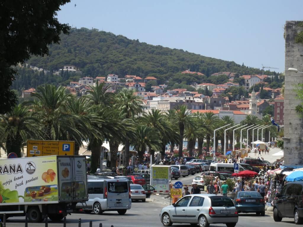 スプリット 街並み クロアチア
