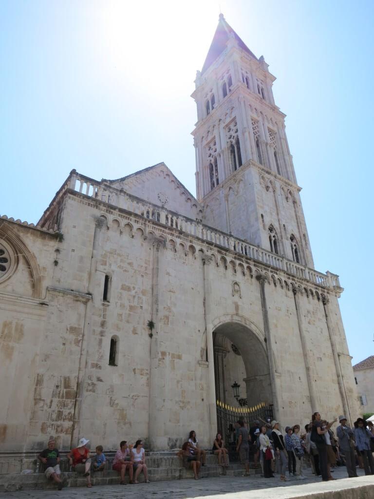 トロギール 世界遺産 教会 クロアチア