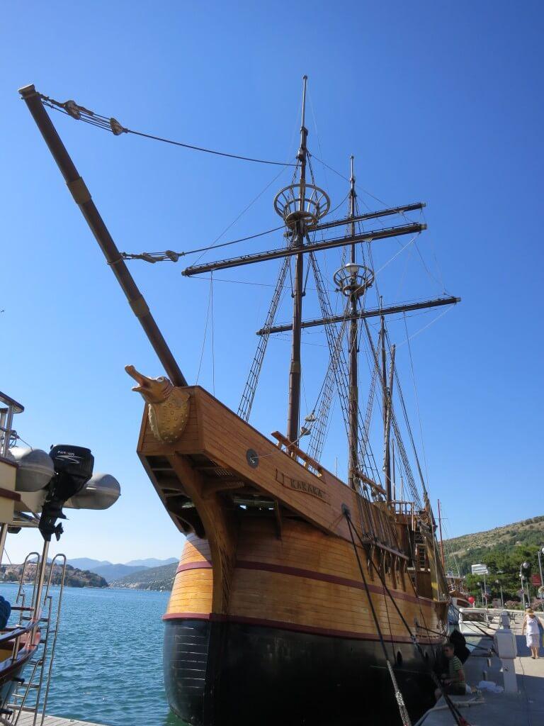 ドブロブニク ガレオン船 大航海時代 クロアチア