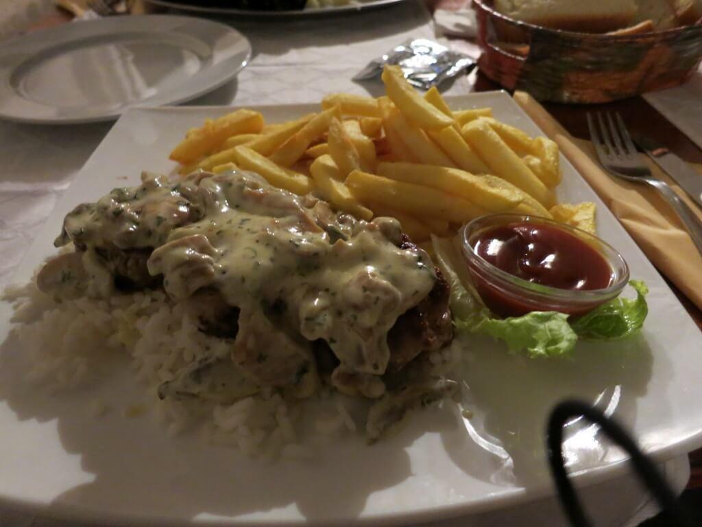 ドブロブニク クロアチア料理