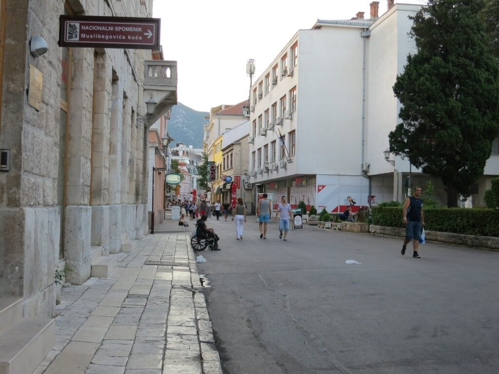 ボスニア・ヘルツェゴビナ モスタル 街並み
