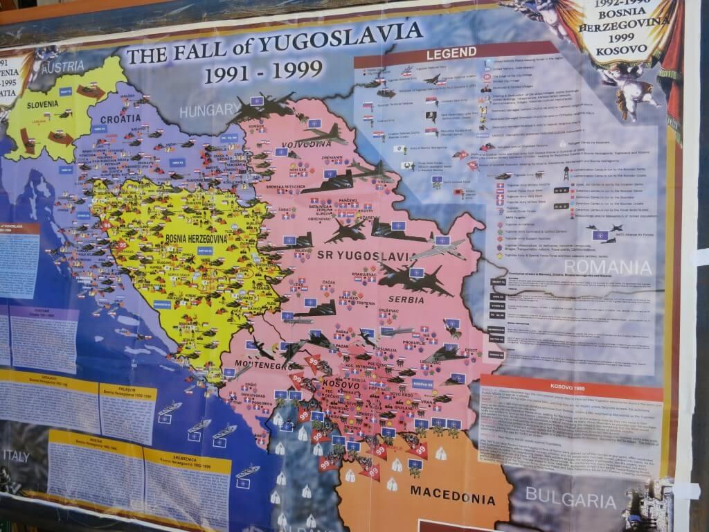 ユーゴスラビア紛争 モスタル ボスニア・ヘルツェゴビナ