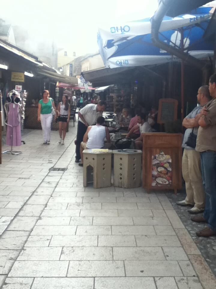 サラエボ 旧市街 街並み