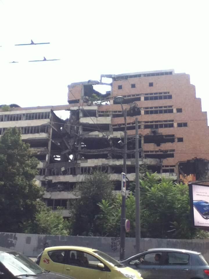 ベオグラード NATOの空爆 セルビア