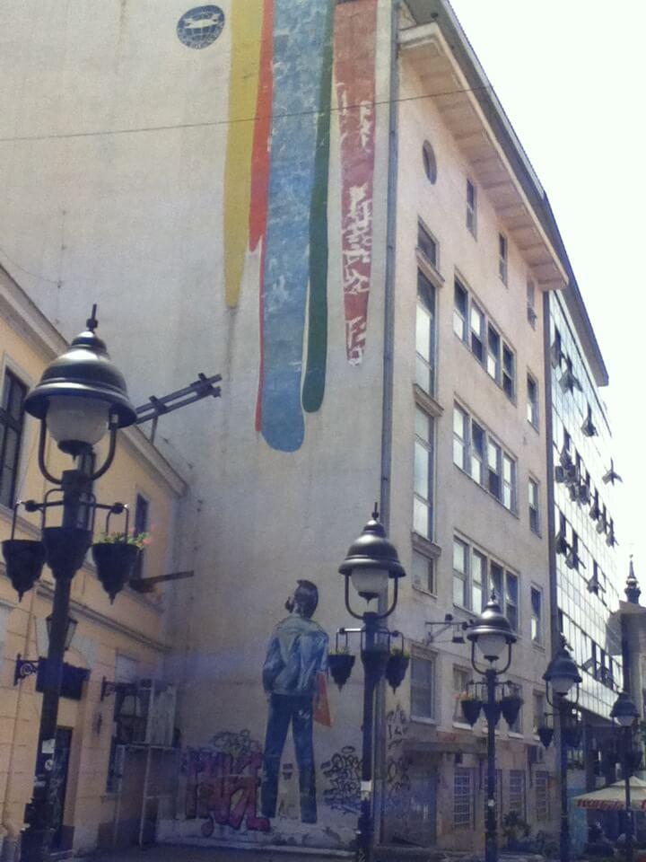 ベオグラード 建物 絵