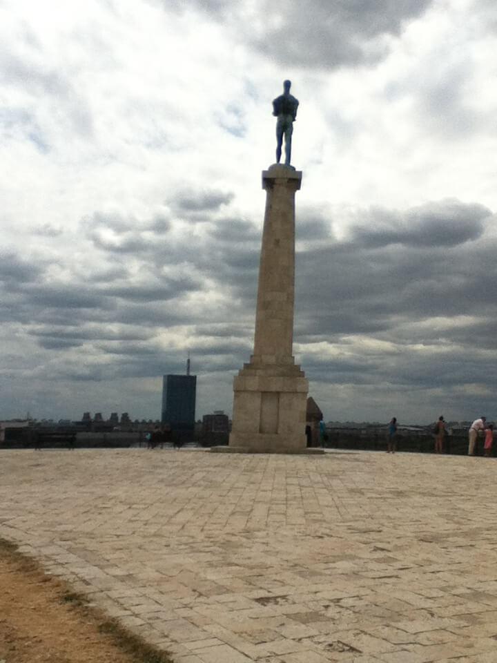 ベオグラード カレメグダン公園 像