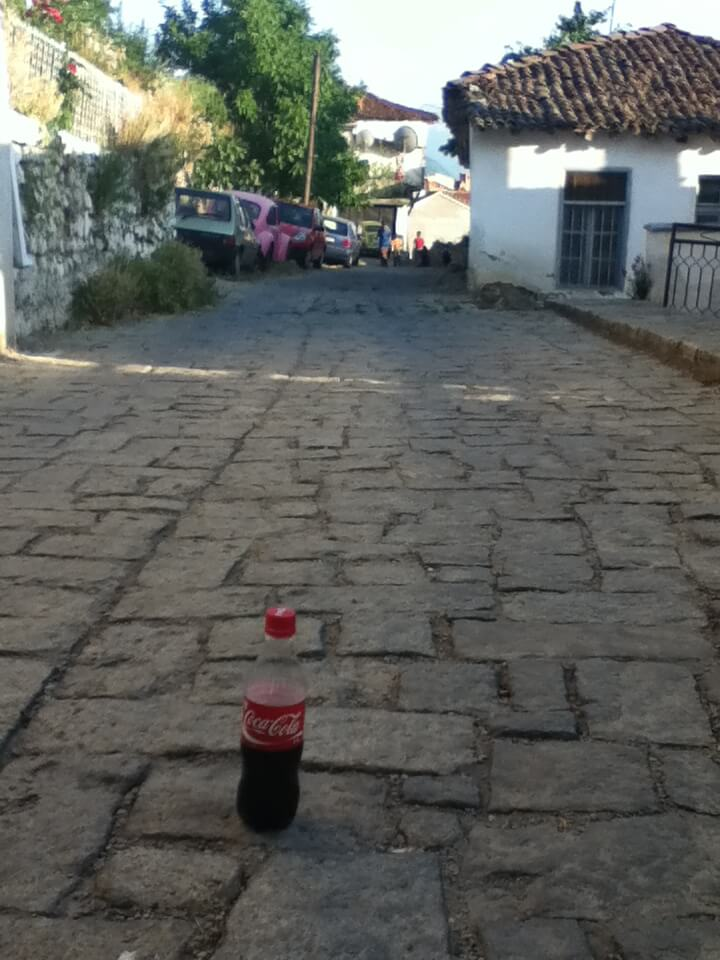 今日のコーラ マケドニアの街並みと