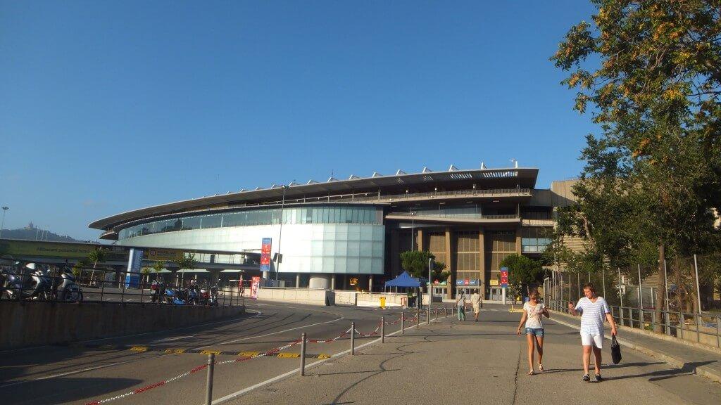 カンプノウ FCバルセロナ スペイン