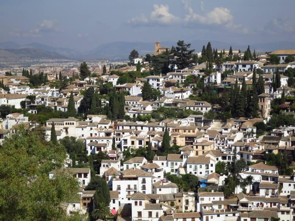 グラナダ 白い街 スペイン