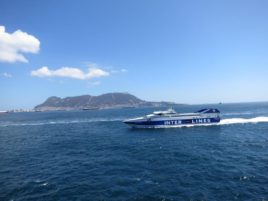 スペイン(アルヘシラス) モロッコ(タンジェ) 高速船