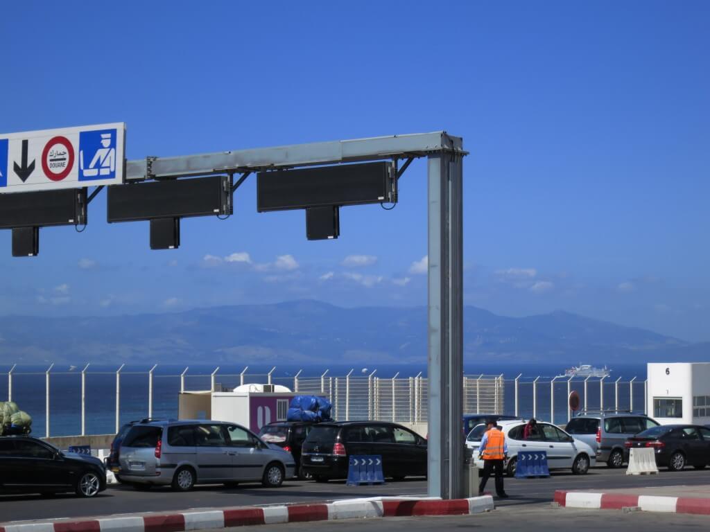 モロッコへの入国は問題なくスタンプ押されて簡単に入国できます!