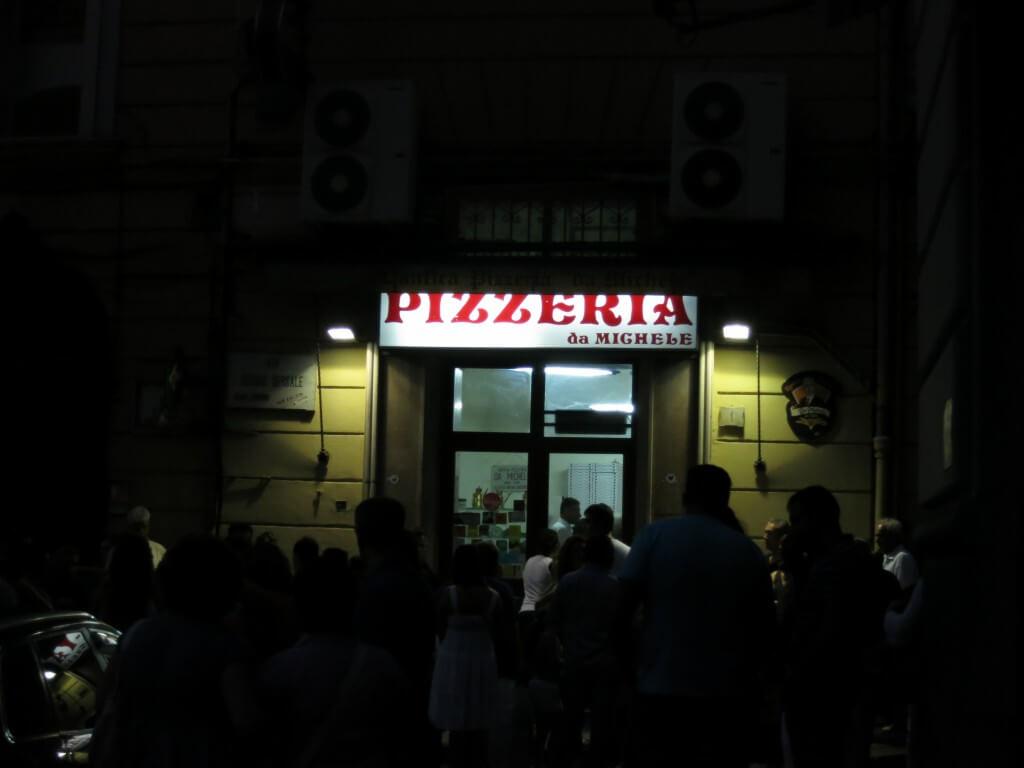 アンティーカ ピッツェリア ダ ミケーレ(ナポリ) Pizzeria da Michele  ナポリ イタリア ピザ