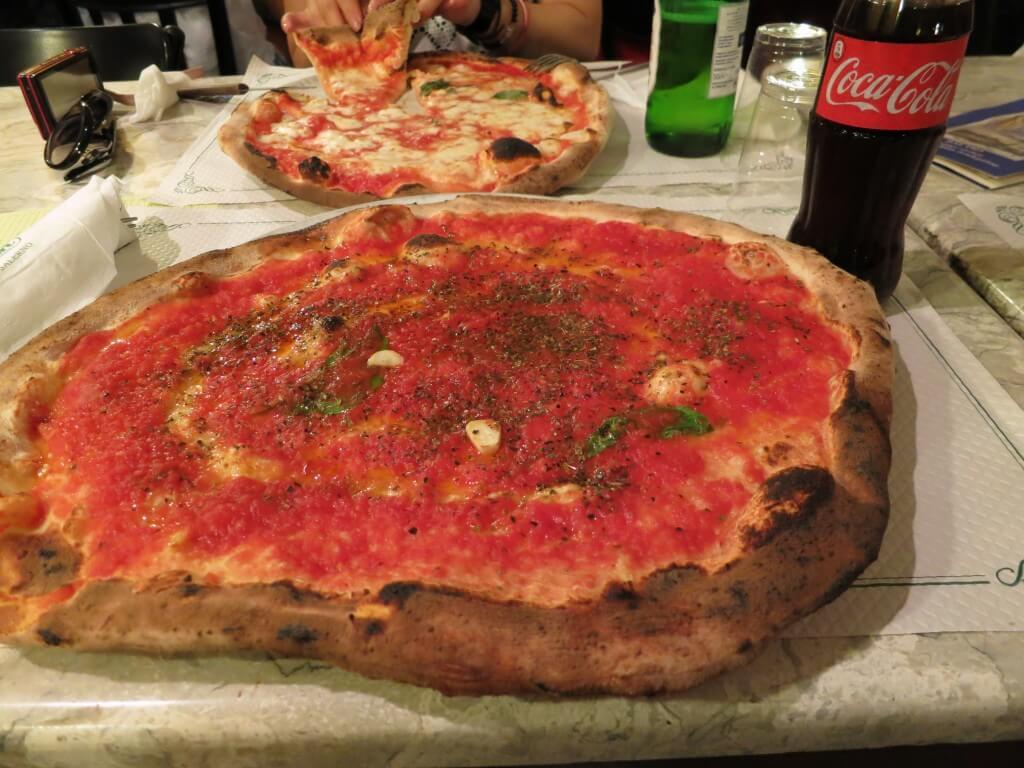 マリナーラ トリアノン ダ チーロ(ナポリ) Pizzeria Trianon ピザ マリアーノ ナポリ