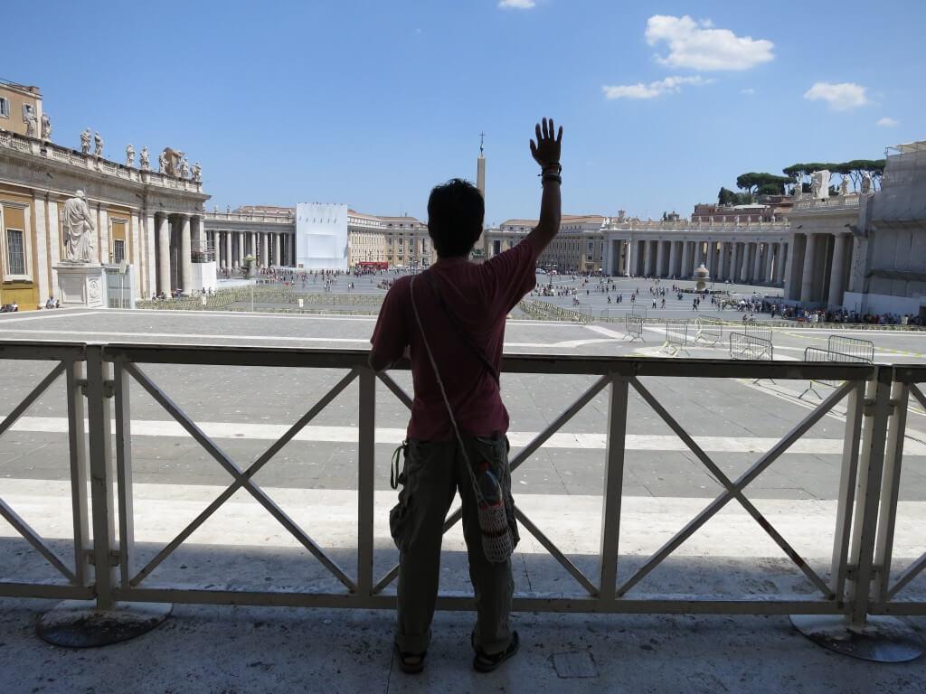 バチカン ローマ法王 会いたい!