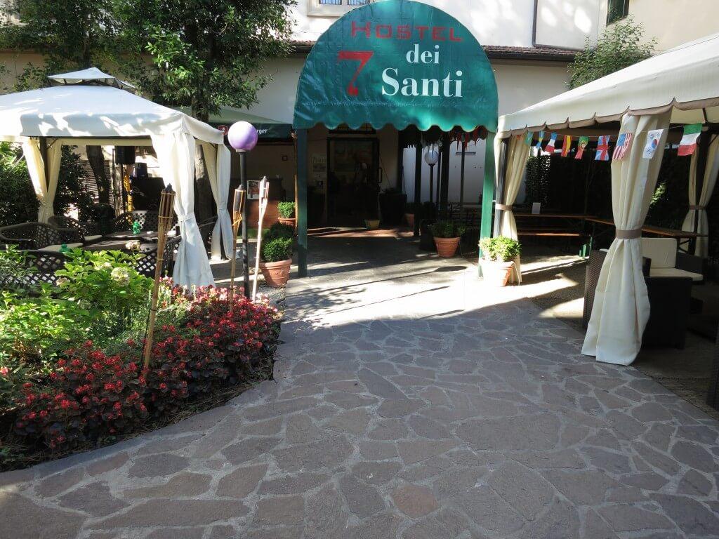 フィレンツェの安宿情報 7 Santi Hostel(ホステル 7 サンティ)