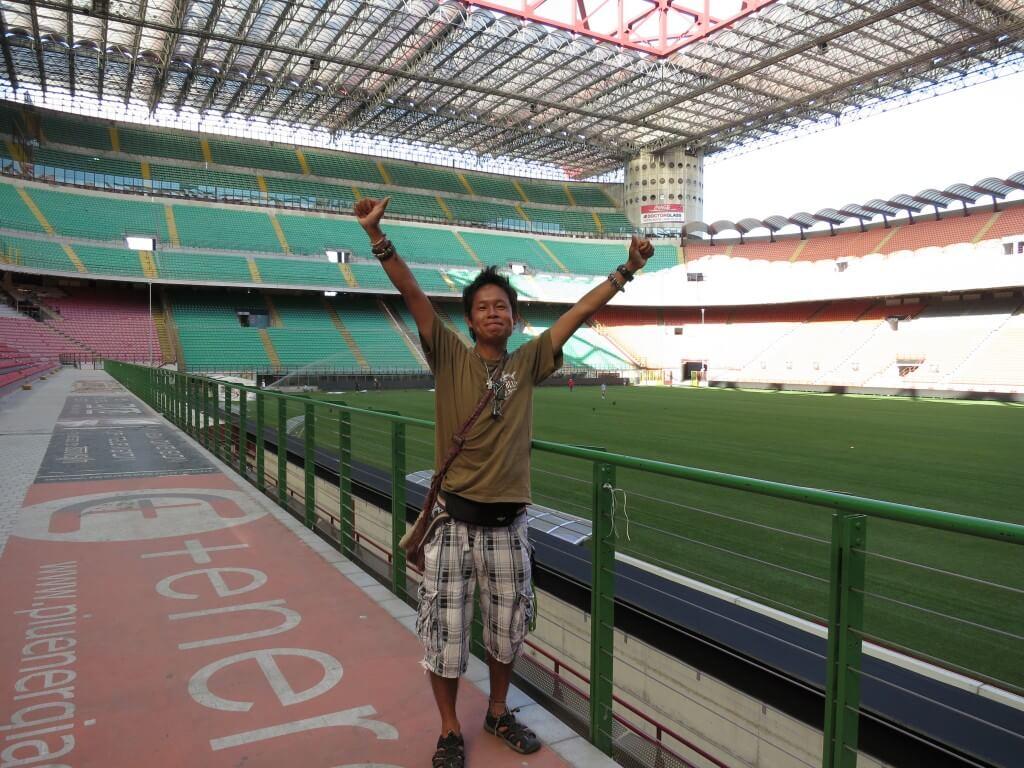 インテル ACミラン サン・シーロスタジアム見学ツアー ミラノ イタリア