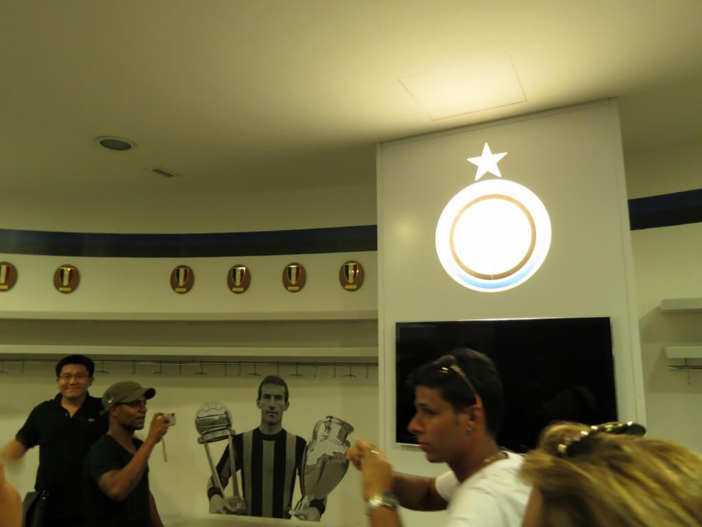 サン・シーロ スタジアム インテル側 控え室 ミラノ イタリア