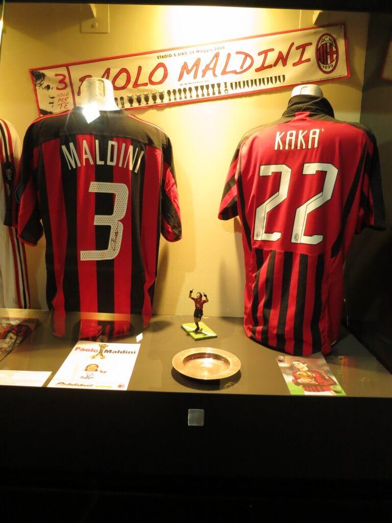 マルディーニ カカー ユニフォーム サンシーロスタジアム ミラノ イタリア