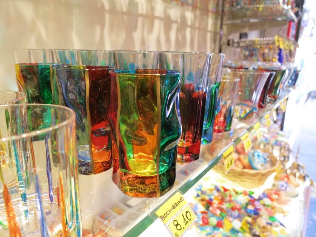 ベネチアで超有名!ベネチアングラスがオシャンティーなお土産すぎる!ガラス細工も!!