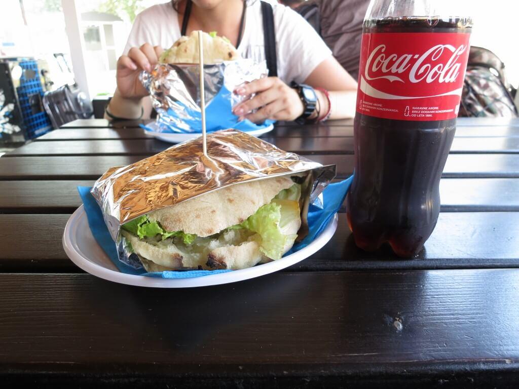 スロベニア コペル ハンバーガー
