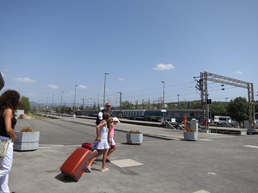 コペル駅 リュブリャナ 電車 スロベニア