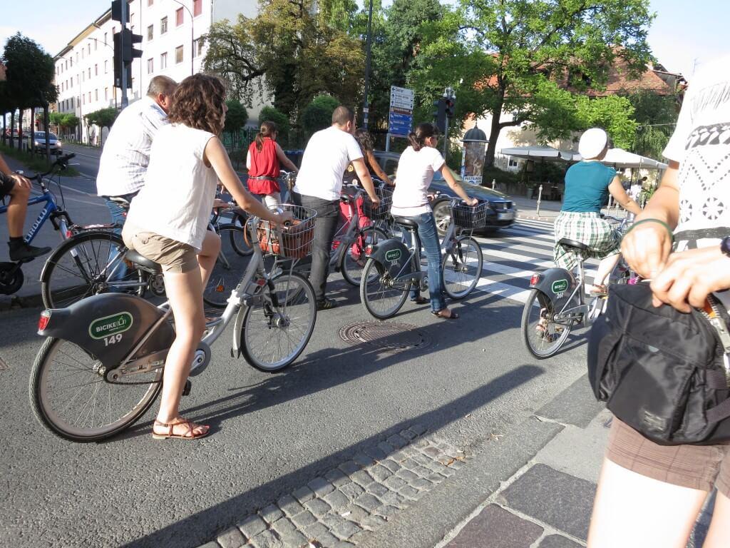 リュブリャナ 観光 自転車 スロベニア