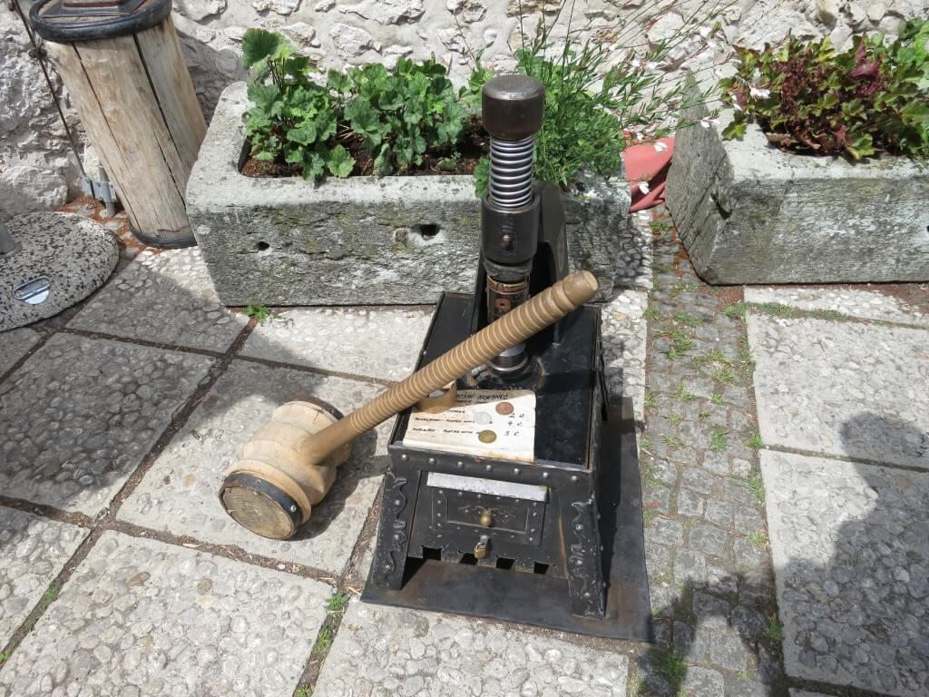 ブレッド城 お土産 記念コイン打ち機 スロベニア
