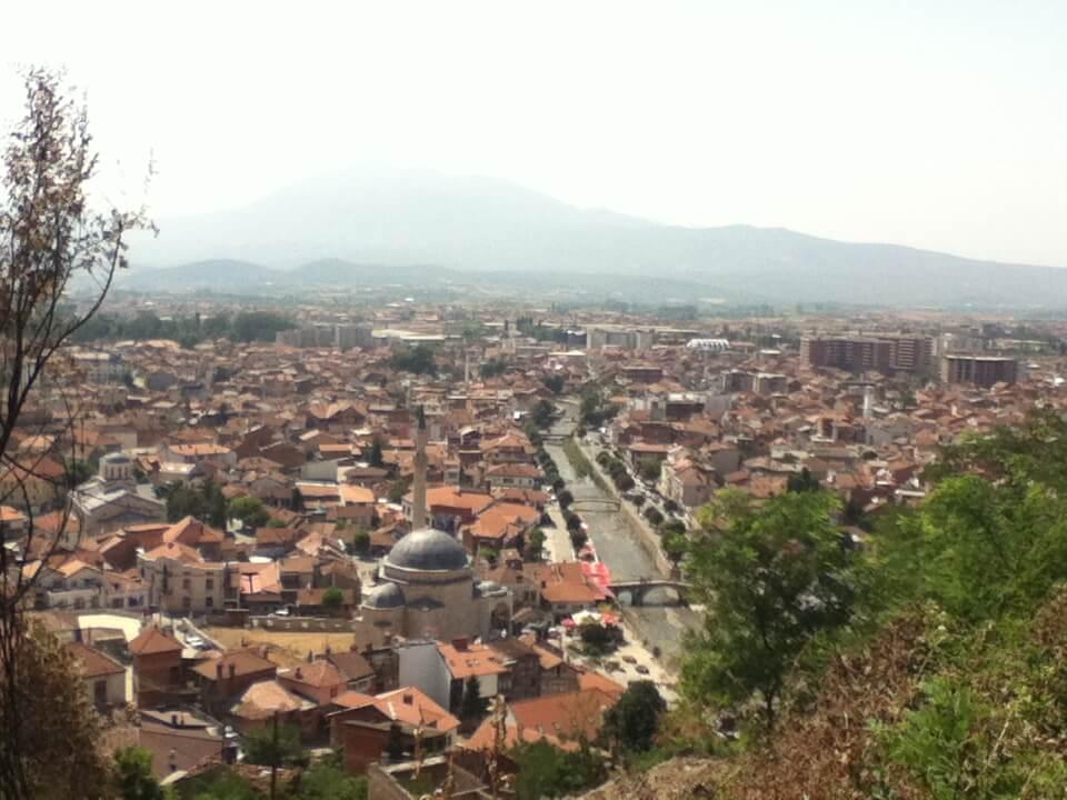 プリズレン 街並み コソボ