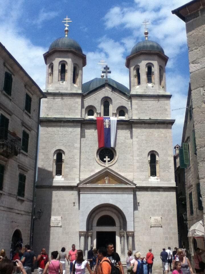 コトル 旧市街 教会 モンテネグロ