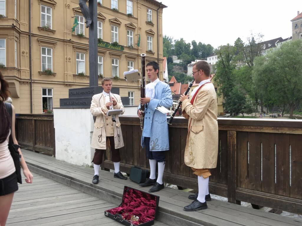 世界で最も美しい街チェスキー・クルムロフ