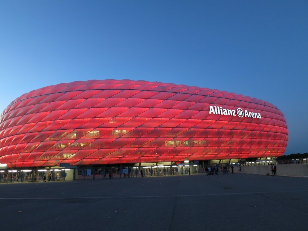 ドイツといったらサッカー バイエルンミュンヘン対ドルトムントのスーパーカップの試合