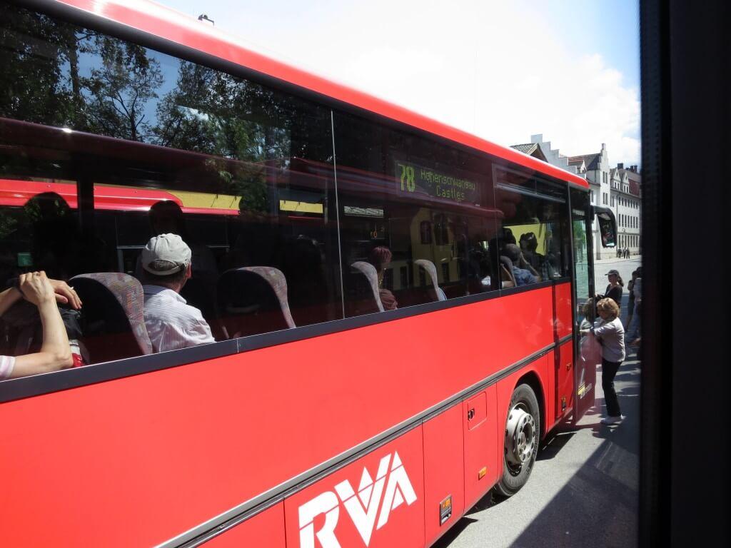 「Bayern Ticket」 バスも無料