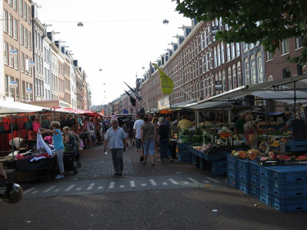 市場 アムステルダム オランダ