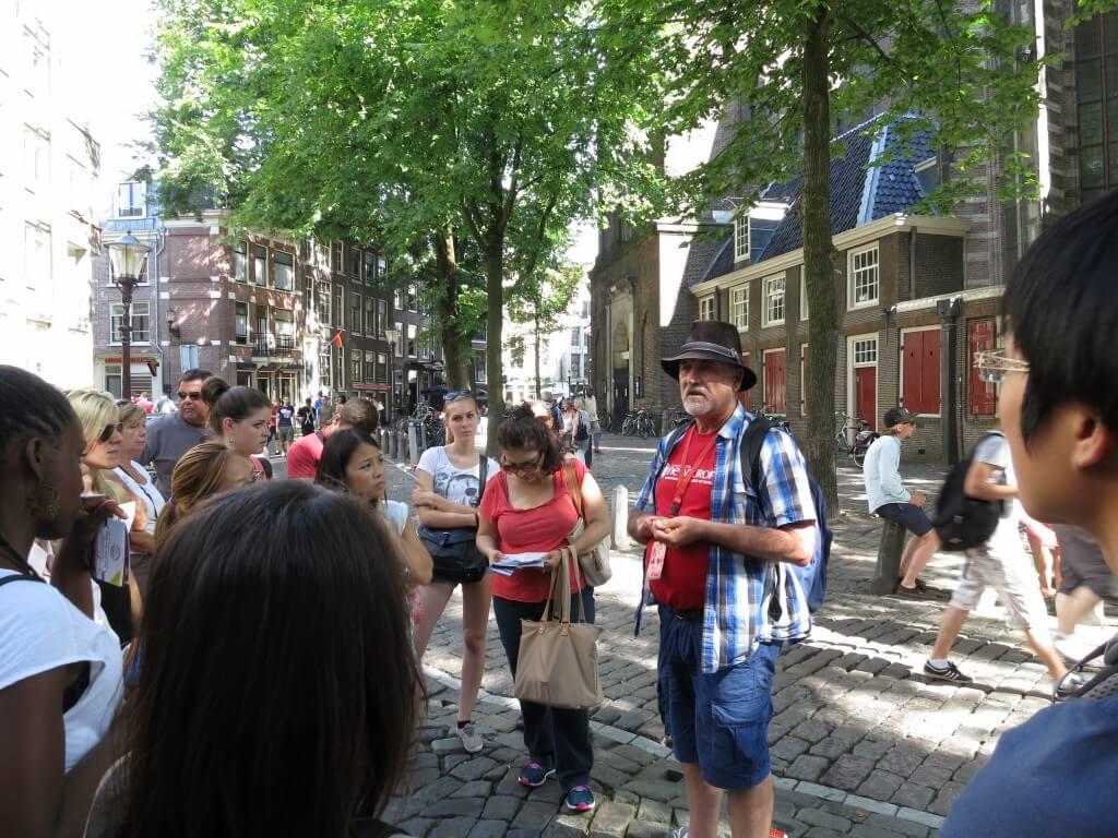 フリーウォーキングツアー アムステルダム オランダ観光