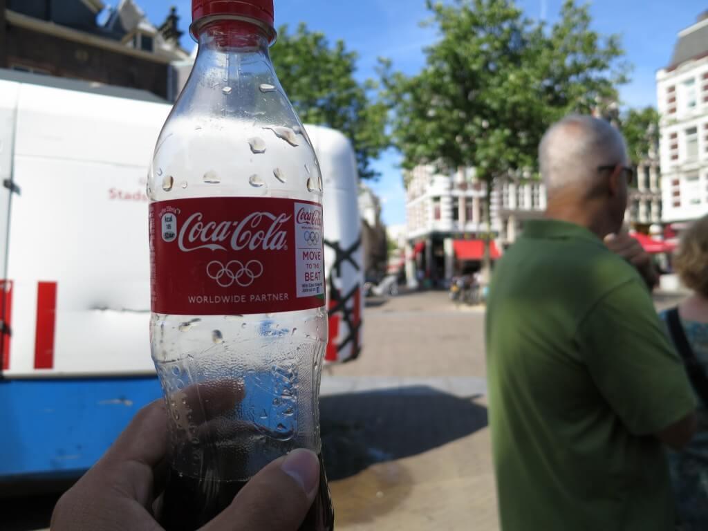 今日のコーラ アムステルダムのフリーウォーキングツアー