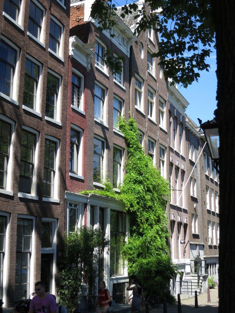 「アンネの日記」の作者 アンネ・フランクが家族とともに隠れ住んでいた家