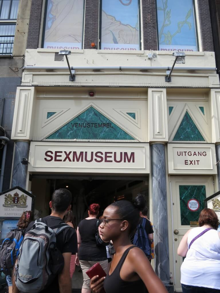 アムステルダムにあるセックス博物館(ミュージアム)に行ってみました