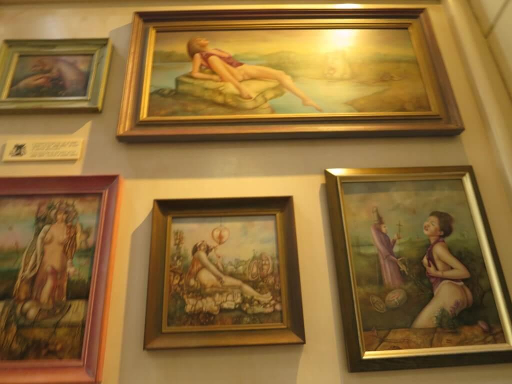 絵画 セックスミュージアム セックス博物館 アムステルダム オランダ