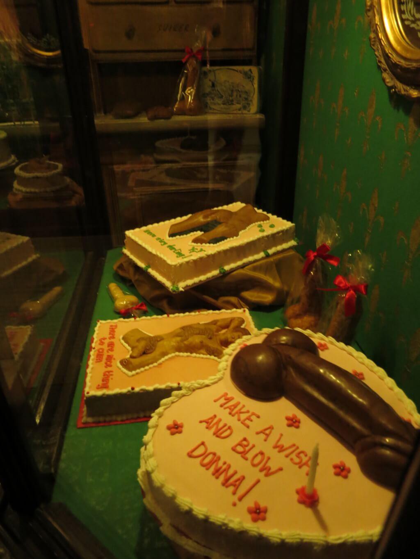 誕生日ケーキ 世界のエロス セックスミュージアム セックス博物館 アムステルダム オランダ