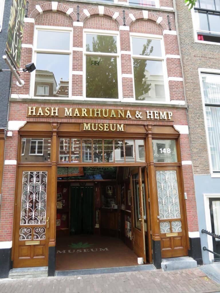 マリファナ ヘンプ ミュージアム 博物館 アムステルダム
