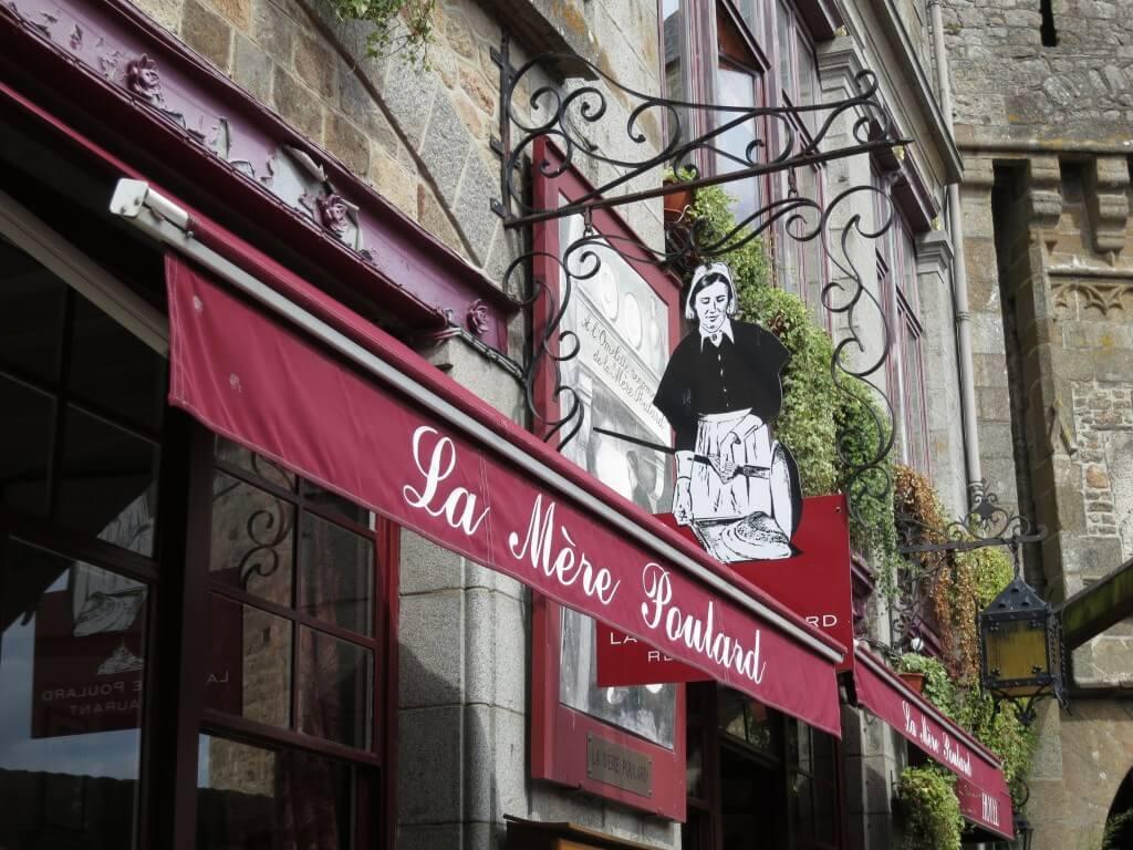 モンサンミッシェルと言ったら、オムレツが有名なんですよ!?「ラ・メール・プラール」