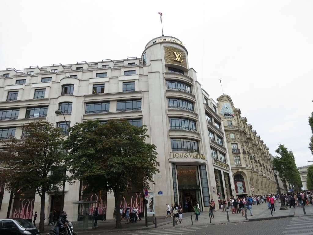 Louis Vuitton(ルイ・ヴィトン) パリ シャンゼリゼ通り フランス Cartier(カルティエ)