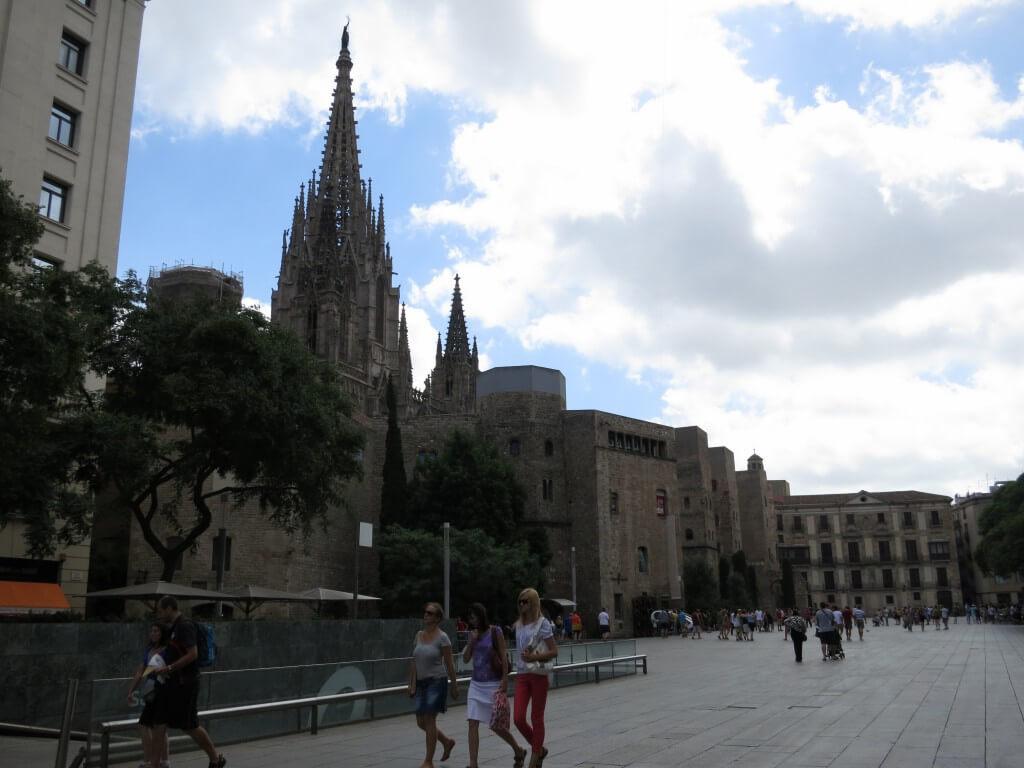 カテドラル バルセロナ スペイン